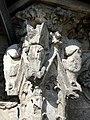 Soissons (02), abbaye Saint-Jean-des-Vignes, cloître gothique, galerie ouest, amortissement d'un contrefort (du nord au sud) 6.jpg