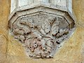 Soissons (02), abbaye Saint-Jean-des-Vignes, réfectoire, cul-de-lampe du 1er doubleau, côté ouest.jpg