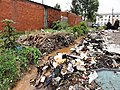 Solid waste blocking the drainage (6915329355).jpg