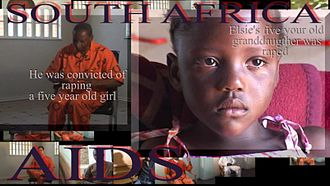 Carlo Burton - South Africa, Aids, Rape and Women's Rights
