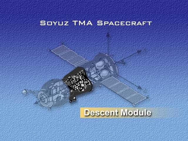 Soyuz-TMA descent module