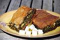 Spanikopita Greek dish.jpg