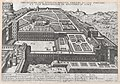 Speculum Romanae Magnificentiae- Aerial View of the Belvedere and its Gardens MET DP870772.jpg