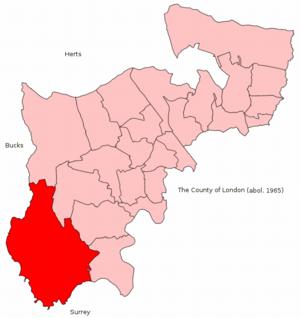 Spelthorne borough boundaries in dating 3