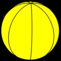 Spherical heptagonal hosohedron.png