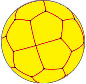 Pentagonal icositetrahedron - Spherical pentagonal icositetrahedron