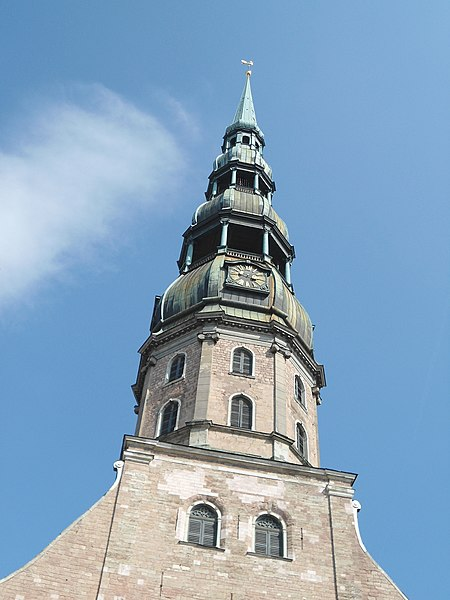 File:Spire of St Peter's Church - panoramio.jpg