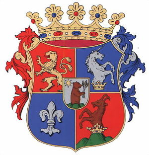 Battle of Rozgony - Image: Spis coatofarms