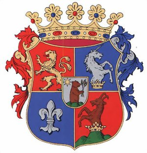 Hungary Davis Cup team - Image: Spis coatofarms
