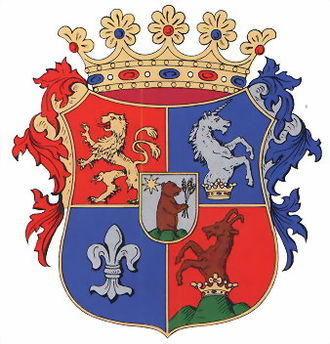 Szepes County - Image: Spis coatofarms