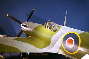 British Columbia Aviation Museum - Replica Supermarine Spitfire.