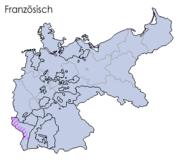 Sprachen deutsches reich 1900 französisch