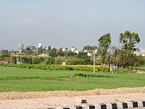 Spring season view on and around Chandigarh International Airport road , from Banur -Landhran to Mohali 07.jpg