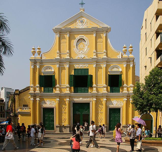 File:St. Dominic's Church in Macau - 20091003 6592.jpg