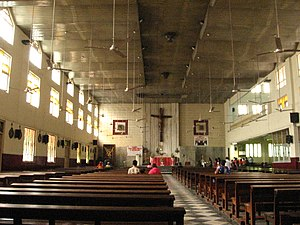 English: St Michael's Church in Mahim, Mumbai