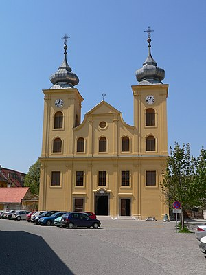 Osijek - St. Michael's Church, in Osijek's Baroque Tvrđa