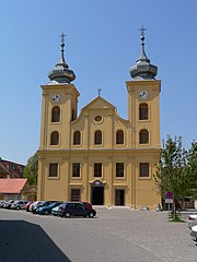 St. Michael's Church, in Osijek's Baroque Tvrđa