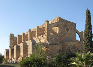 Famagusta - Church of Sts. Peter and Paul (1359) was converted into a mosque in 1571 and renamed as the Sinan Pasha Mosque.