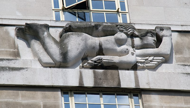 File:St James's Park Station sculptures – West Wind by Samuel Rabinovitch.jpg