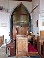 St John's Church, Levens, Organ - geograph.org.uk - 1723336.jpg