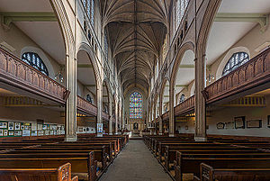 St Luke's Church, Chelsea - Image: St Luke's Church Nave, Chelsea, England Diliff
