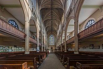 St Luke's Church, Chelsea - Image: St Luke's Church Nave, Chelsea, England Diliff