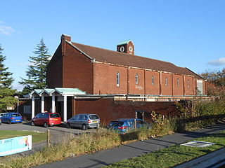 Wythenshawe area of south Manchester, England