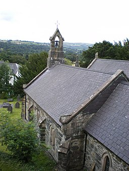St Mary's church, Trefriw - geograph.org.uk - 1441804
