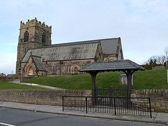 Bidston - Image: St Oswald's Church, Bidston (1)
