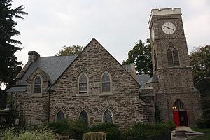 St. Paul's Episcopal Church (Elkins Park, Pennsylvania) - Image: St Paul Episcopal Church, Elkins Park PA 03