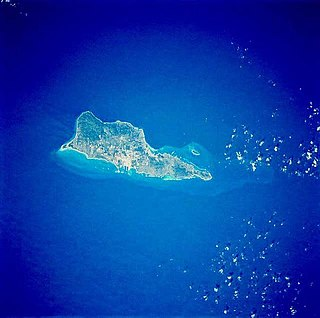 one of the main islands of the United States Virgin Islands