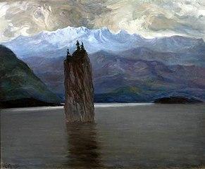 Norwegian fjord.