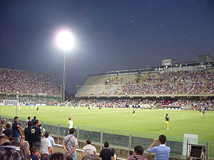 Stadio Arechi - Image: Stadio Arechi interno