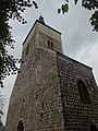 Stadtpfarrkirche Altlandsberg Westturm Südwestansicht Turmgeschoss.jpg