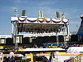 Stage at Yankee stadium for Benedict XVI mass.jpg