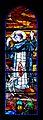 Stained Glass Cathedral Saint Cecile (Albi, Tarn, France)-Saint François d'Assise+Loup de Gubbio.jpg
