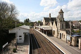 Stamford railway station - Image: Stamford railway station AB1