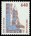 Stamp Germany 1995 Briefmarke Dom zu Speyer.jpg