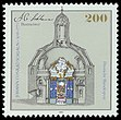 Stamp Germany 1995 Briefmarke Johann Conrad Schlaun.jpg