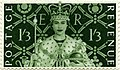 Stamp UK 1953 1shilling3d coronation.jpg