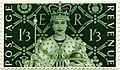 Stamp UK 1953 1shilling3d coronation.jpg