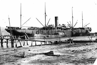 SS Suffolk (1899) - Image: State Lib Qld 1 88724 Suffolk (ship)