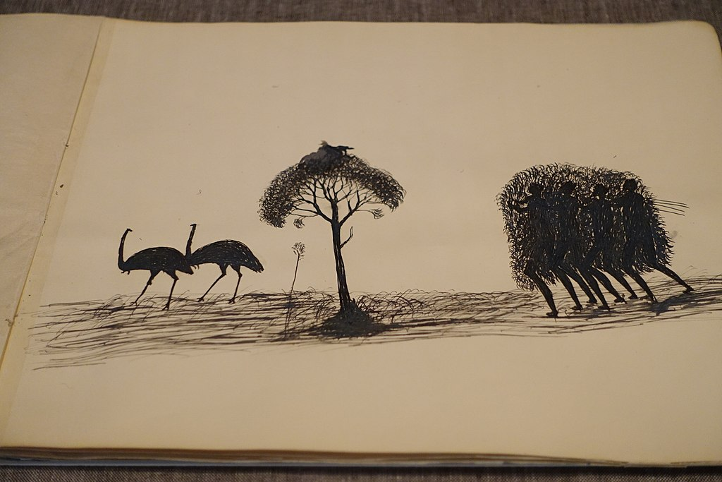 State Library of Victoria - A Book of Drawings by Tommy McRae