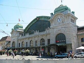Basel SBB railway station - Main north entrance