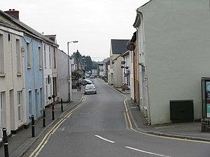 St Blazey - Image: Station Road, St. Blazey, Cornwall geograph.org.uk 1249843