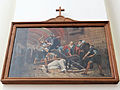 Station of the Cross in Saint Francis church in Warsaw - 07.jpg