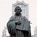 Statue Marktplatz (Wittenberg) Martin Luther (zweite Bearbeitung).jpg