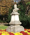 Statue of Charles Augustin Sainte-Beuve, Luxembourg Gardens, Paris 2013.jpg