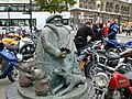 Statue to commemorate Giles the cartoonist - geograph.org.uk - 17065.jpg