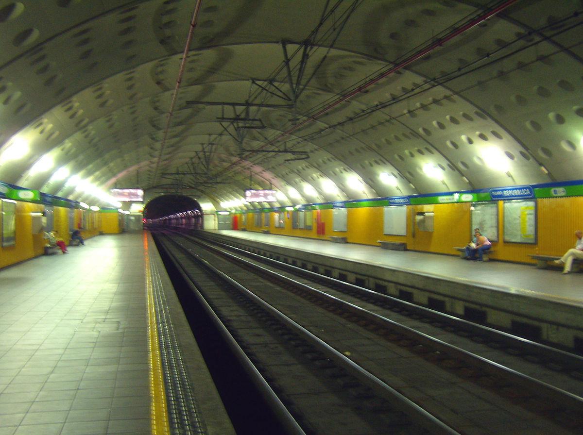 Stazione di milano repubblica wikipedia - Passante ferroviario porta garibaldi ...